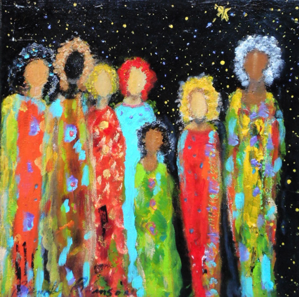 we are family - painting brenda robinson